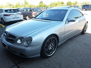 Mercedes Benz CL Coupe 600   2 300